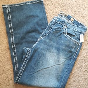 Mens 34×30 buckle jeans